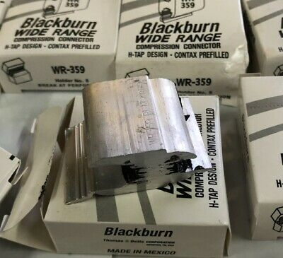 BlackBurn H-tap Compression Connector WR-359, lot of 5, Free Shipping!