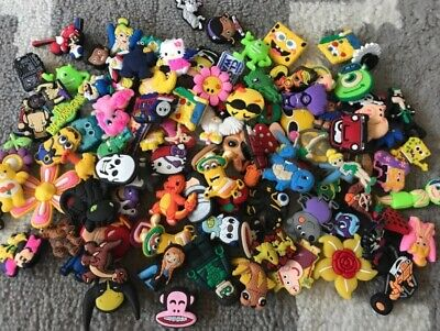 30 Mixed Pvc Shoe Charm Lot Different Shoe Charms Fit For Croc Jibbitz Wristband