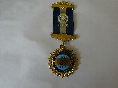 Masonic Medal/Jewel Raob G L E Torquay Convention 1934