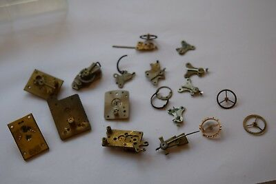 antique carriage  clock escapement platforms and parts 7