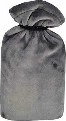 Vagabond Bags Ltd Grey Extra Large Hot Water Bottle and Supersoft Cover 2.7L
