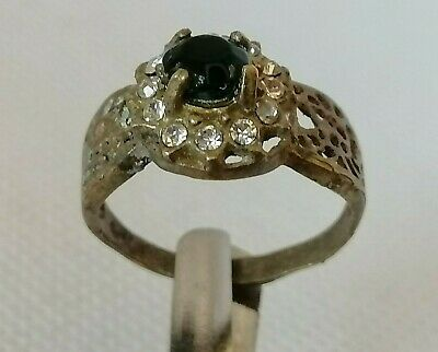 Extremely Rare Ancient Roman Ring Bronze Legionary Authentic Very Stunning