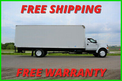 2012 Ford F750 26ft Box Truck Non CDL Automatic. EXTRA CLEAN!