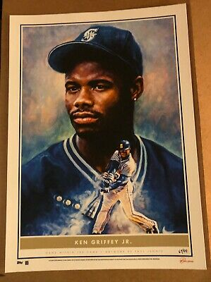 Ken Griffey Jr 2020 Topps Game Within The Game 10x14 Fine Art Print #3 #d 67/99