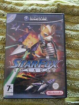 Starfox Assault - Nintendo Gamecube GC - Version Française PAL FR