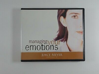 Managing Your Emotions by Joyce Meyer 4-Disc CD Set Audio