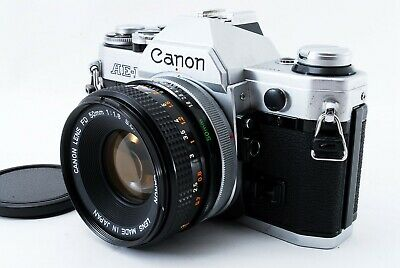 [ MINT]  Canon AE-1 SLR Camera w/ FD 50mm f1.8 SC lens from Japan from Japan