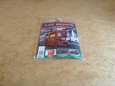Classic Routemaster Issue #115 Build Route 11 London Bus Die-Cast Model Parts