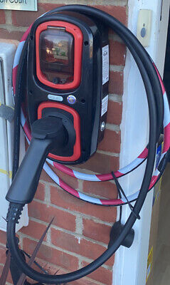 Rolec 32amp (7.2kw) WALLPOD EV Charger & 5mtr EV Charging Cable (Type 2)
