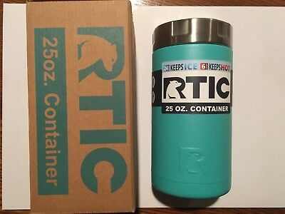 RTIC 25oz Container Teal Food Prep Lunch NIB 24hr Ice 6hr Hot No Sweat Gifting +