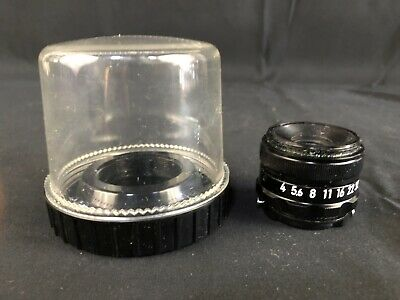 Nikon EL-Nikkor 75mm f/4 Darkroom Enlarging Lens in Bubble Case V29