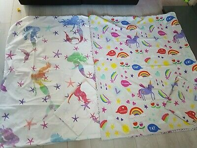 Girls Next Toddler Bed Cover X2