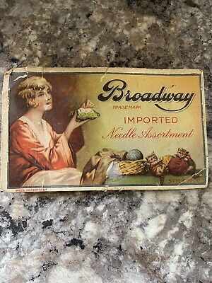 Antique Broadway Imported Needle Assortment Style 1000 - Made in Germany