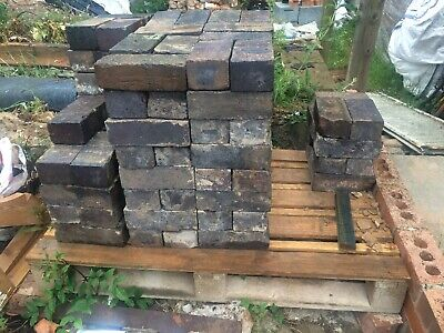Victorian Blue Engineering Bricks 145 Cleaned and ready to be laid plus more!
