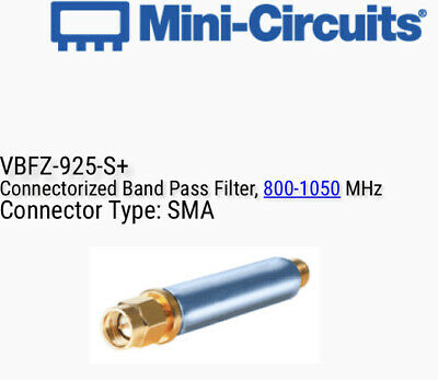 Mini-Circuits VBFZ-925-S+ Band Pass Filter