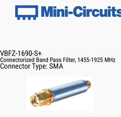 Mini-Circuits VBFZ-1690-S+ Band Pass Filter