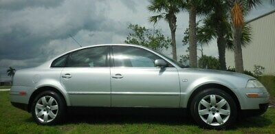 2003 Volkswagen Passat FLORIDA 53k~GLX~AUTOMATIC SHARP SEDAN CLEAN~FWD~LEATHER~SUNROOF~V6~ICE COLD AIR~NON SMOKER~LOW MILES~like jetta audi