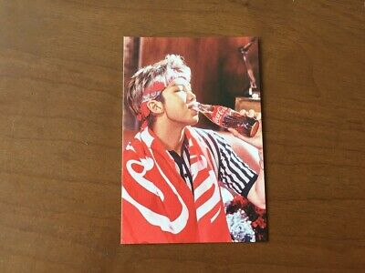 Bts - Rm Coca Cola Collaboration Photocard Limited Music Musik Foto