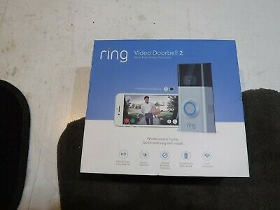 *NEW* Ring Video Door Bell 2, HD 1080P, Wi-Fi, Wired and Wireless (8VR1S7-0EN0)