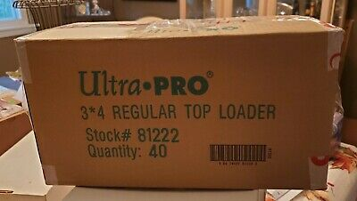 (1000) Ultra Pro Premium 3x4 Clear Rigid Top Loaders - Brand New Sealed Case
