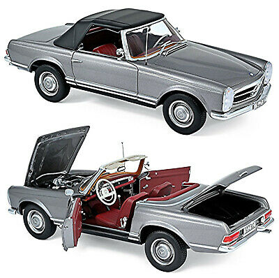 Mercedes Benz 230 SL Pagode W113 1963-71 Anthracite metallic 1:18 Norev 183498