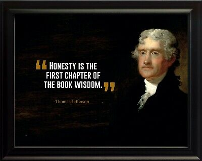 Honesty Is The Poster Print Picture or Framed Wall Art