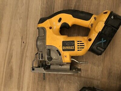 Dewalt 18V Jig Saw Heavy Duty XRP Easy Blade Change DC330 boxed with 3 batteries