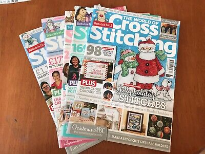 5 World of Cross Stitching Magazine