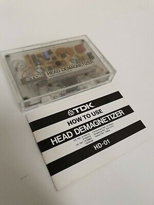 TDK Head Demagnetizer :HD-01 Untested.1982 See Photos used