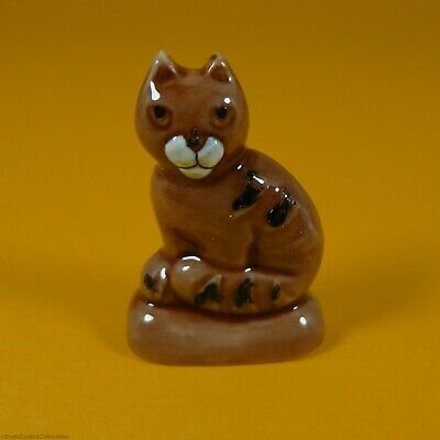 Wade Whimsies (2009) Gingerbread Family Series - Prototype Mod3 *Gingerbread Cat