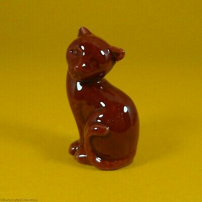 Wade Whimsies (2012) Fair Issue - Brown Cat