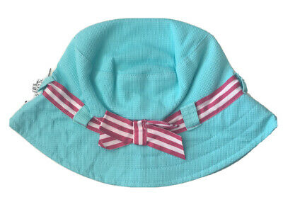 2 PACK OF INFANT / TODDLER GIRLS SUMMER HATS BNWT, PROCLIMATE ONE SIZE 54cm