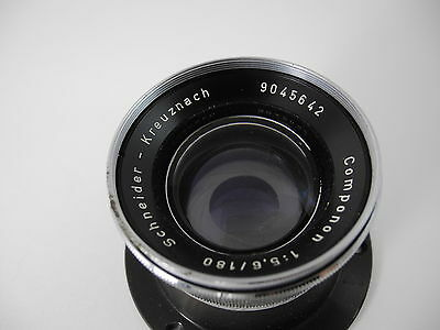 Schneider Kreuznach Componon 180/5.6 Enlarging Lens With Mount Perfect Glass