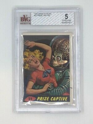 1962 Mars Attacks - #21 Prize Captive