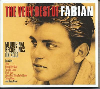 Fabian - The Very Best Of / Greatest Hits 2CD NEW/SEALED