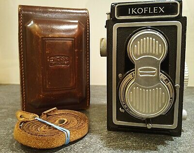 Zeiss Ikon Ikoflex Con Zeiss-Opton Tessar 75/3,5 MM T
