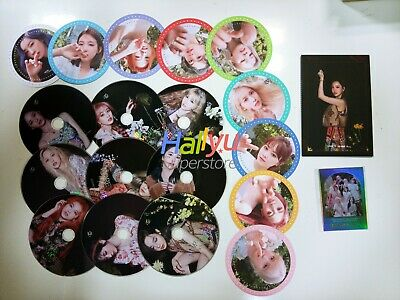 """Twice  """"More & More """" 9th Mini - Offficial Coaster, CD, The Most Card, Postcard"""