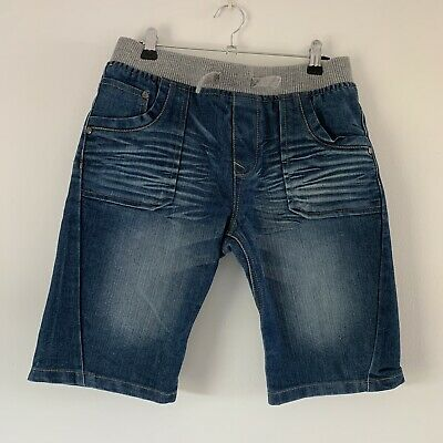 Blue Zoo Boys Denim Shorts With Elasticated Waist Age 12