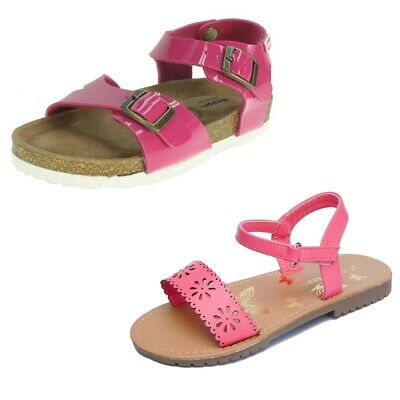Toddler Baby Girl Pink Sandals Summer Infant Shoes Size 4 to 13
