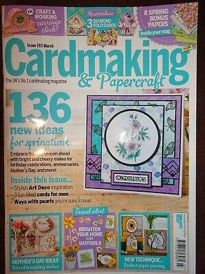 Cardmaking & Papercraft Magazine issue 193 March 2019