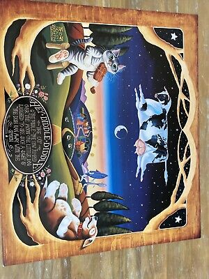 Hey Diddle Diddle Art Poster 26in By 22in 1993
