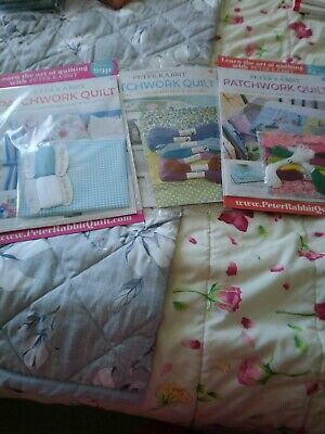 NEW Set Of 3 Patchwork Magazine
