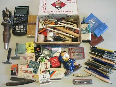 Junk Drawer Lot of Advertisement & Much More Goodies or Not See Pictures Wow