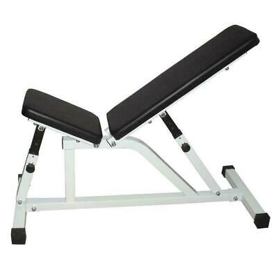 Gym Adjustable Bench Weight Sit Up Incline Abs Home Fitness Equipment Workout
