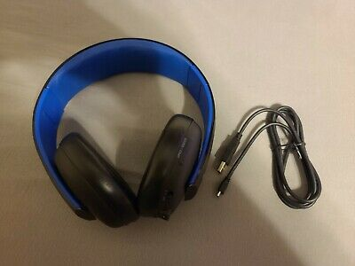 Sony PlayStation Gold CECHYA-0083 Headset for Sony PS4 & PS3! NO DONGLE INCLUDED