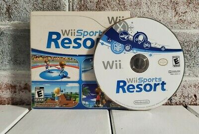 Wii Sports Resort FREE SHIPPING Nintendo Wii Game Disc in Sleeve (No Manual)