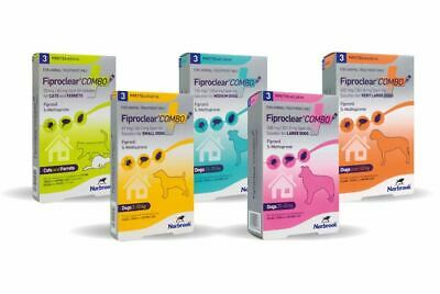 FiproClear Combo Spot-On   Dogs, Cats, Small Animals