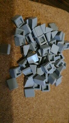 10 x Lego Red 1x1 Smooth Slope Tile Plate Part Pieces *CHEAPEST ON *