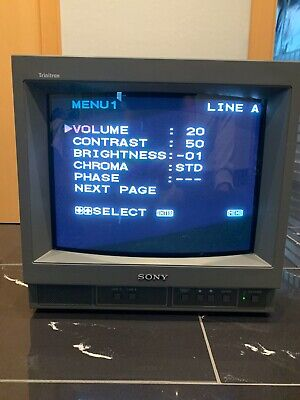 SONY PVM-14N1E Trinitron Color Video Monitor