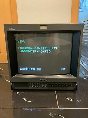 Sony Broadcast Color Video Monitor PVM-1454QM